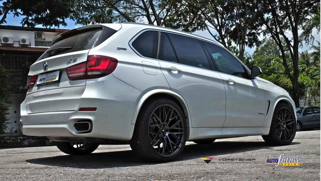 BMW X5 Lowered V-FF 107 3