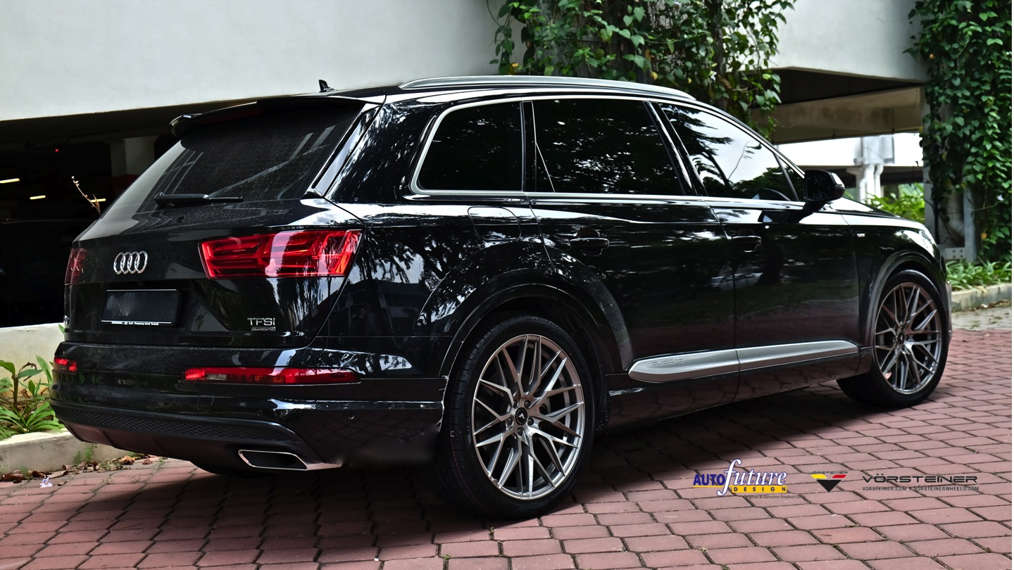 Audi Q7 Equipped With Vorsteiner V-FF 107 Wheels! | Autofuture Design SDN BHD