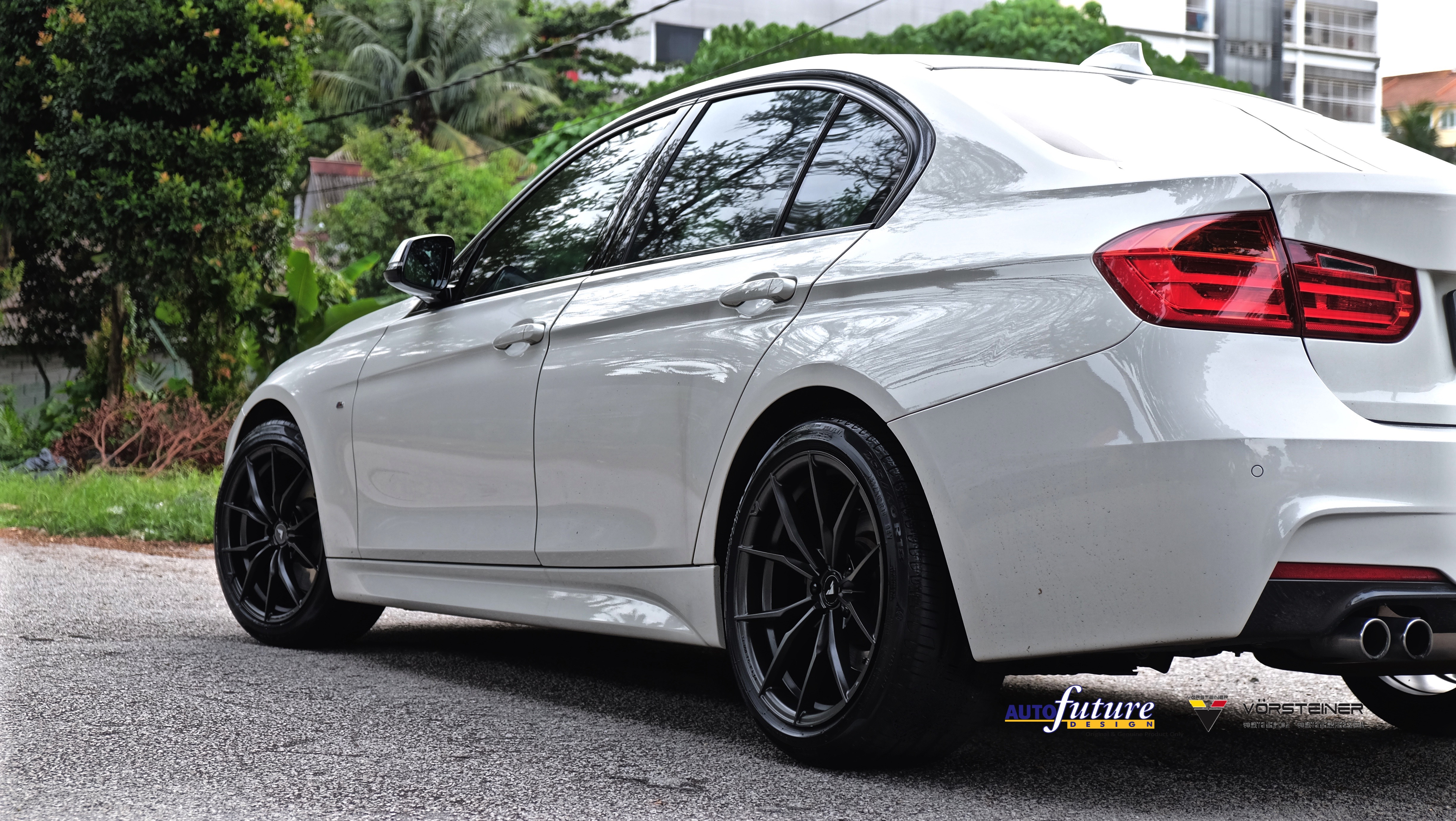 Bmw F30 3 Series Made Better With A Set Of Vorsteiner V Ff 108 Alloys Autofuture Design Sdn Bhd