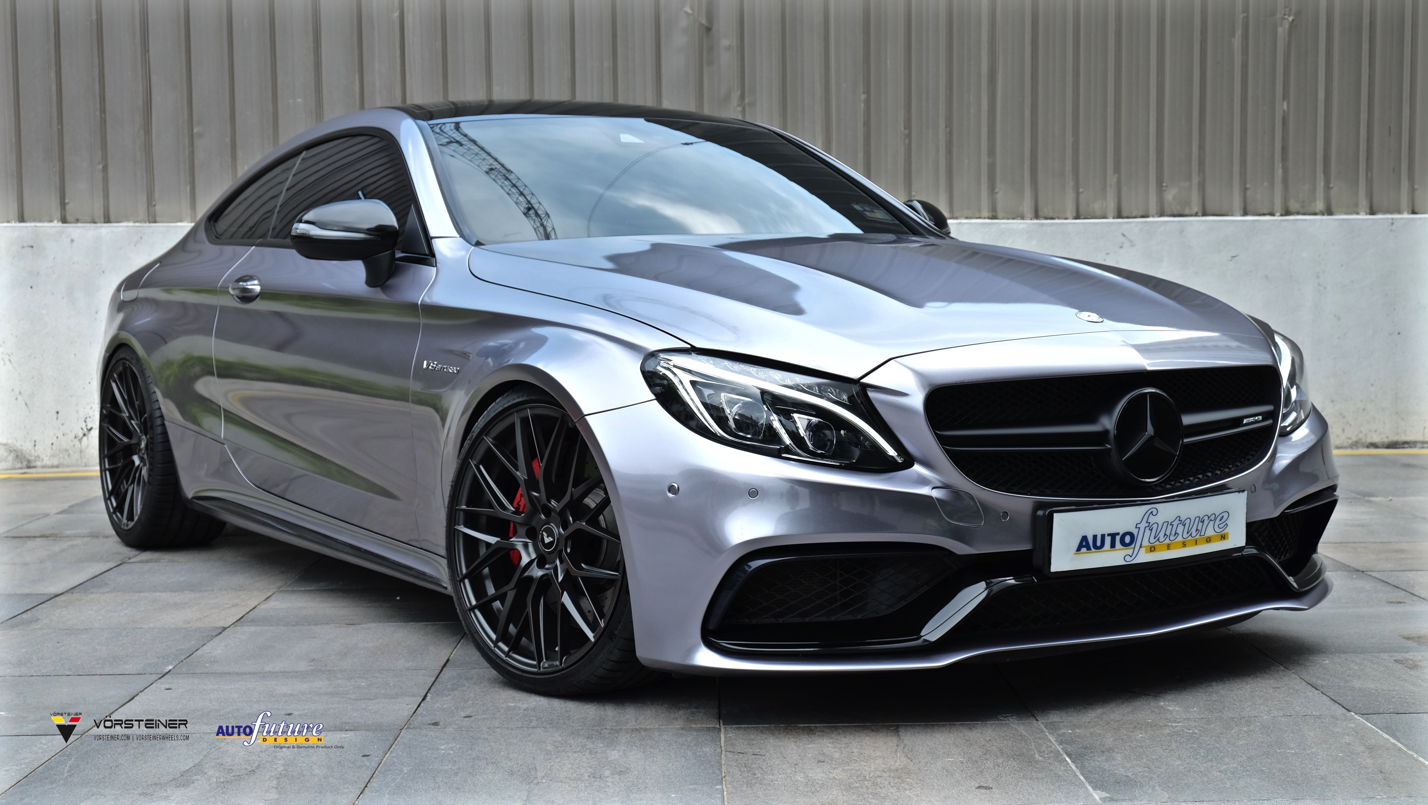 Michelin Pilot Sport >> Mercedes-AMG C63S Coupe On A Set Of Vorsteiner V-FF 107 Wheels! | Autofuture Design SDN BHD