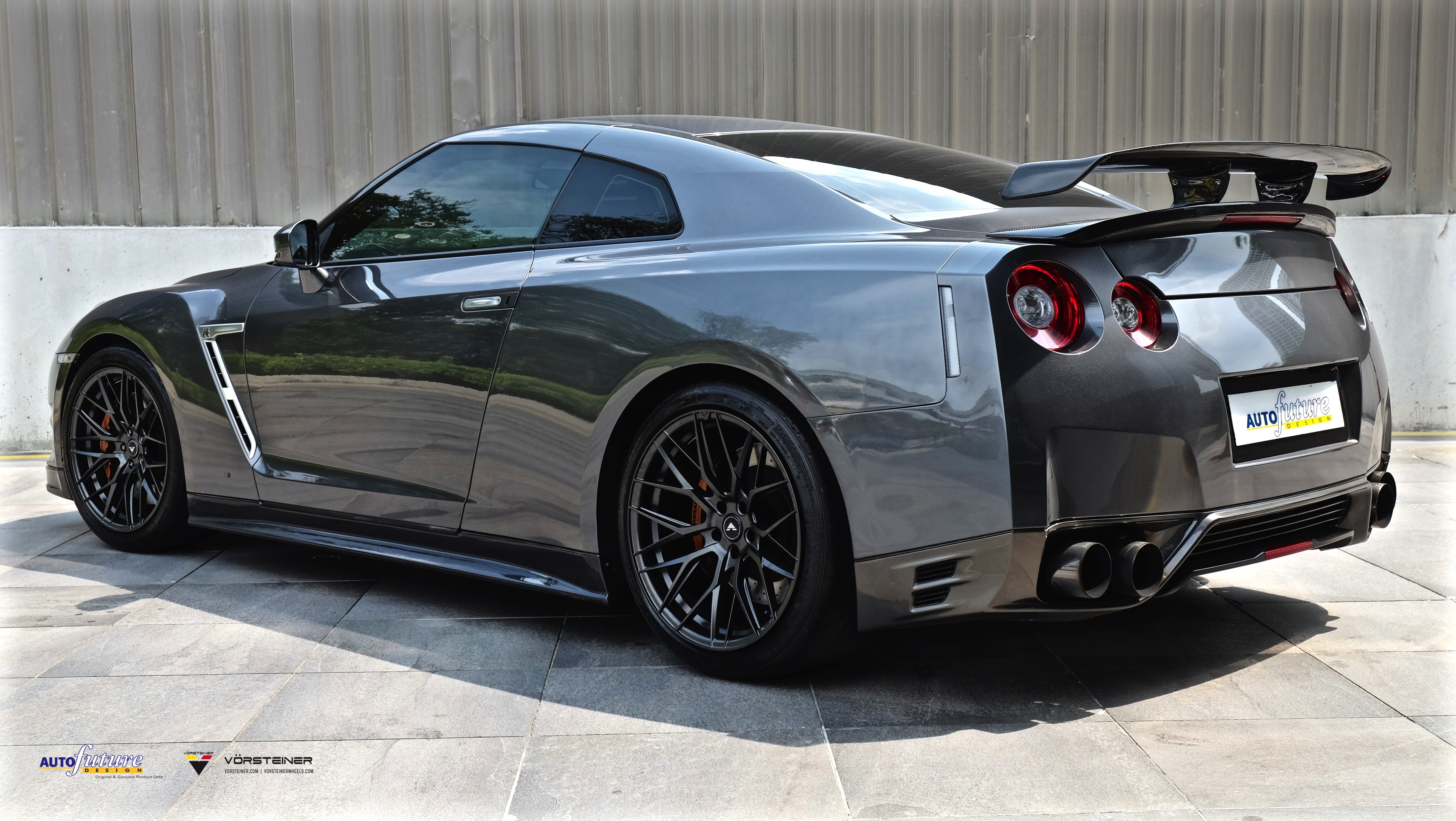 9b4e8799bd Godzilla Made Scarier  Nissan GT-R Equipped With Vorsteiner s V-FF ...