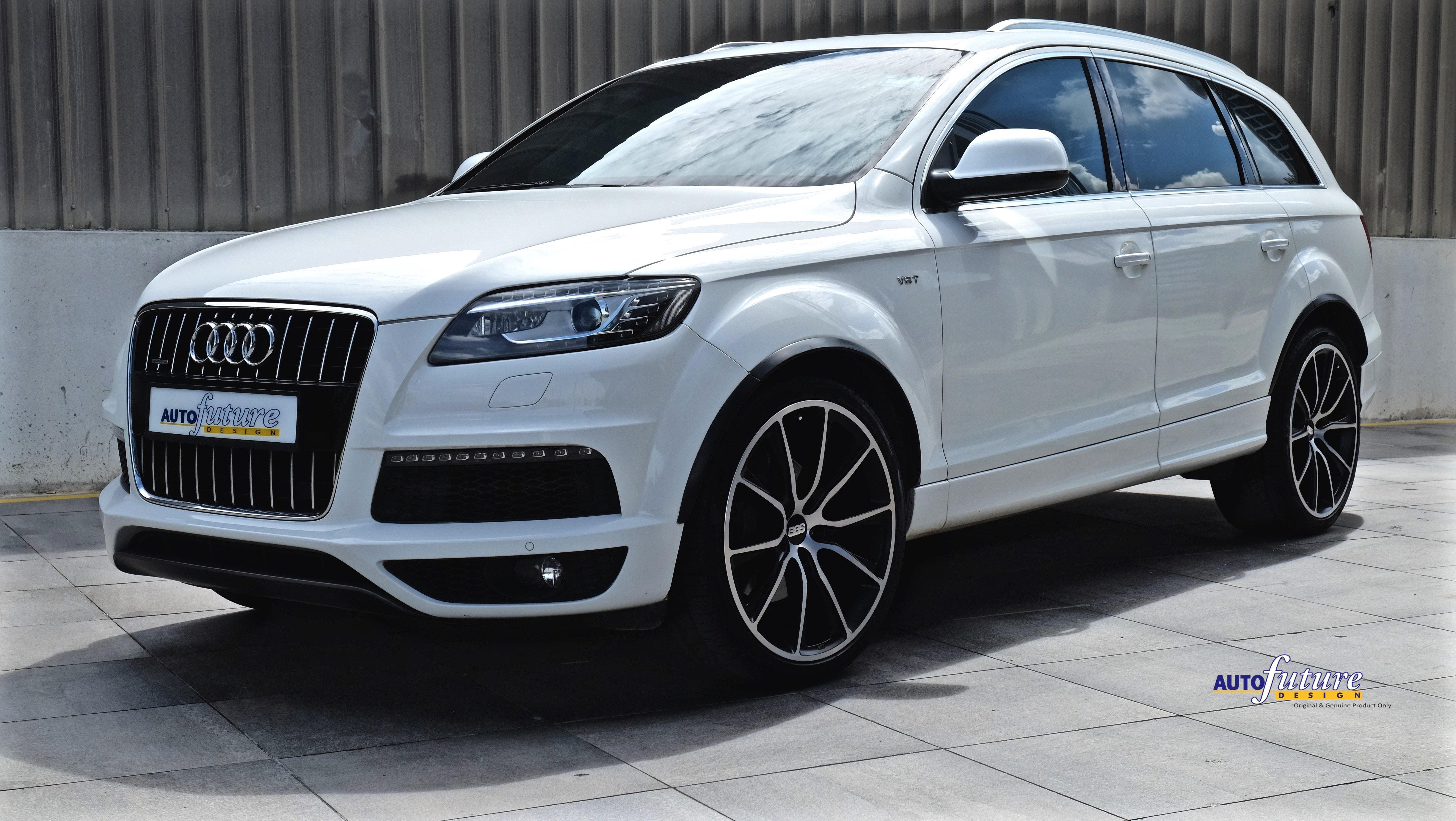 Audi Q7 On A Set Of Bbs Sv Wheels Autofuture Design Sdn Bhd