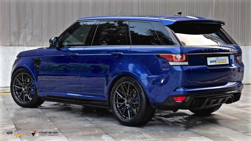 Range Rover SVR-8