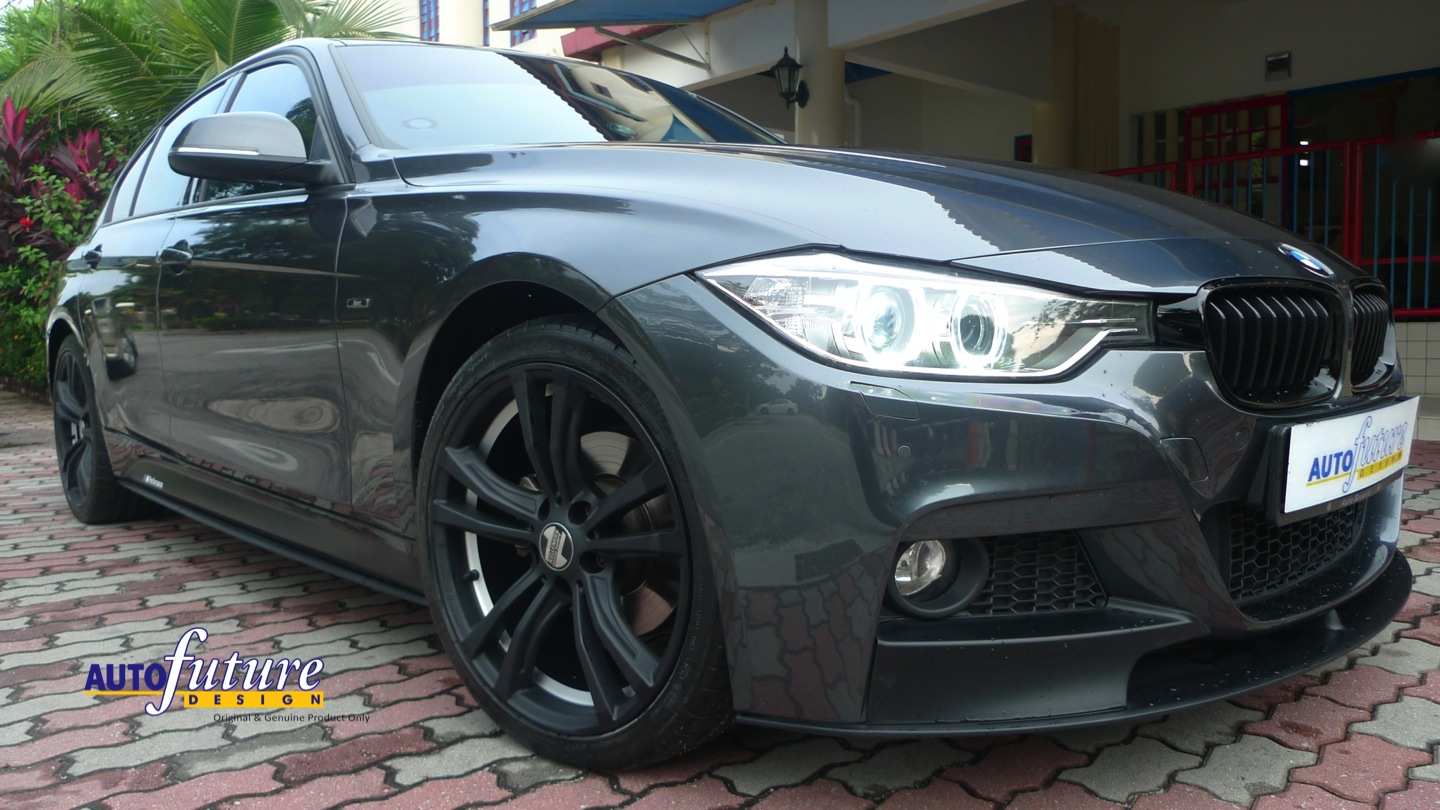 Bmw F30 With Kelleners Sport Munich Wheels And Some Bmw Performance Accesories Autofuture
