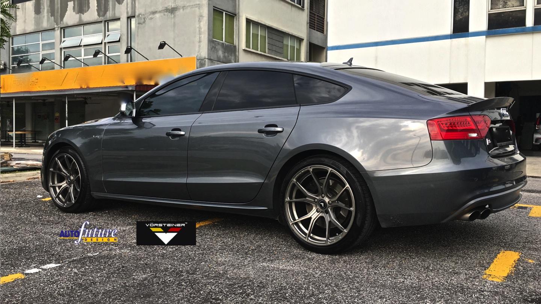 Audi S5 Equipped With Vorsteiner V Ff 103 Wheels Autofuture Design Sdn Bhd 2015 vorsteiner audi s5 v ff 3